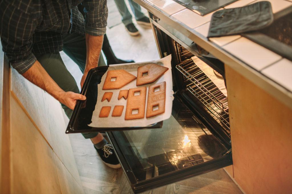 gingerbread house baking trico homes holiday season tips