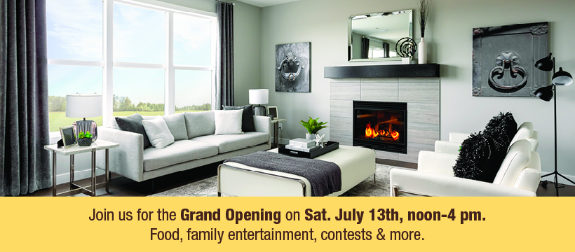 Gems of Redstone Grand Opening Event Calgary July 13 new showhomes