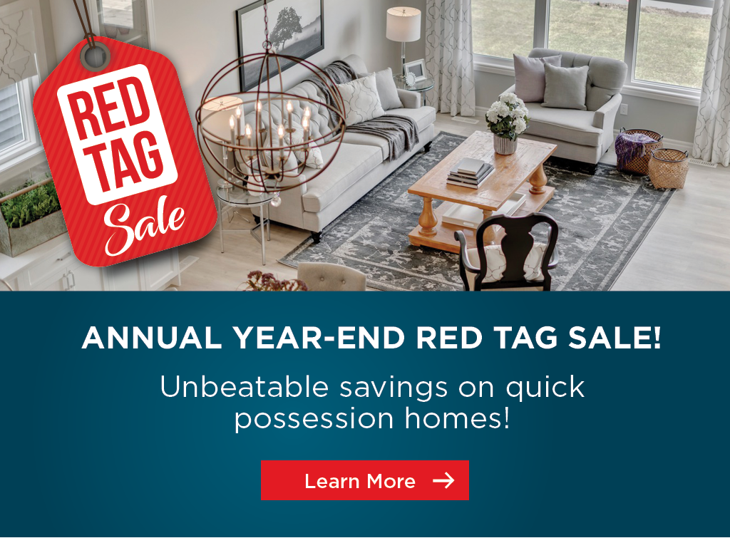 Trico Homes ANNUAL YEAR-END RED TAG SALE!