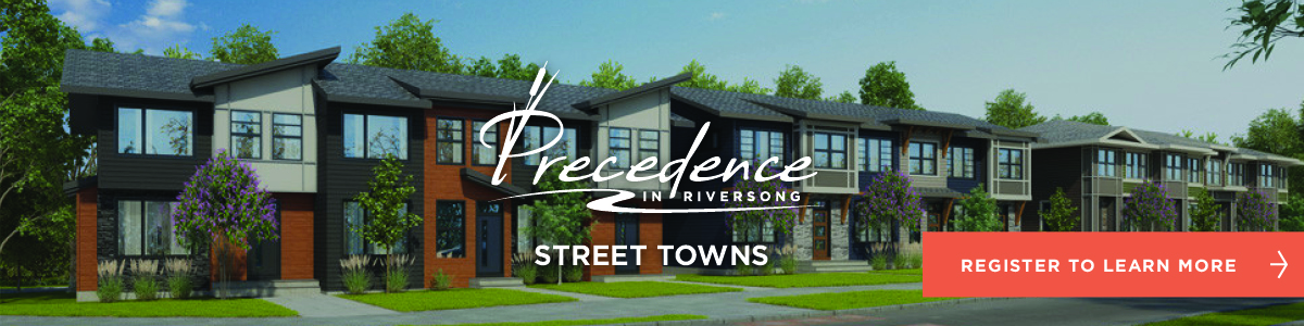 Precedence Street Towns by Trico Homes in Cochrane, Alberta