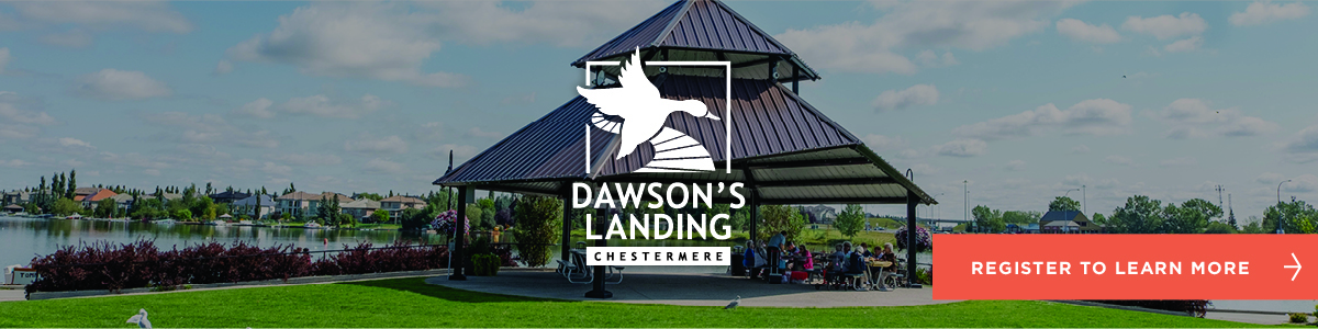 Dawson's Landing Laned homes by Trico Homes in Chestermere, Alberta