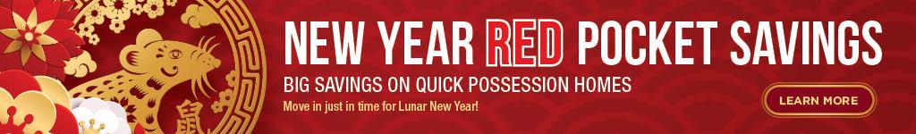 Trico Homes New Year Red Pocket Savings