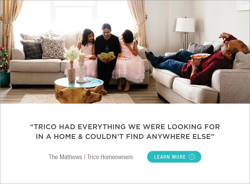 Trico Homes Customer Testimonials - The Matthews