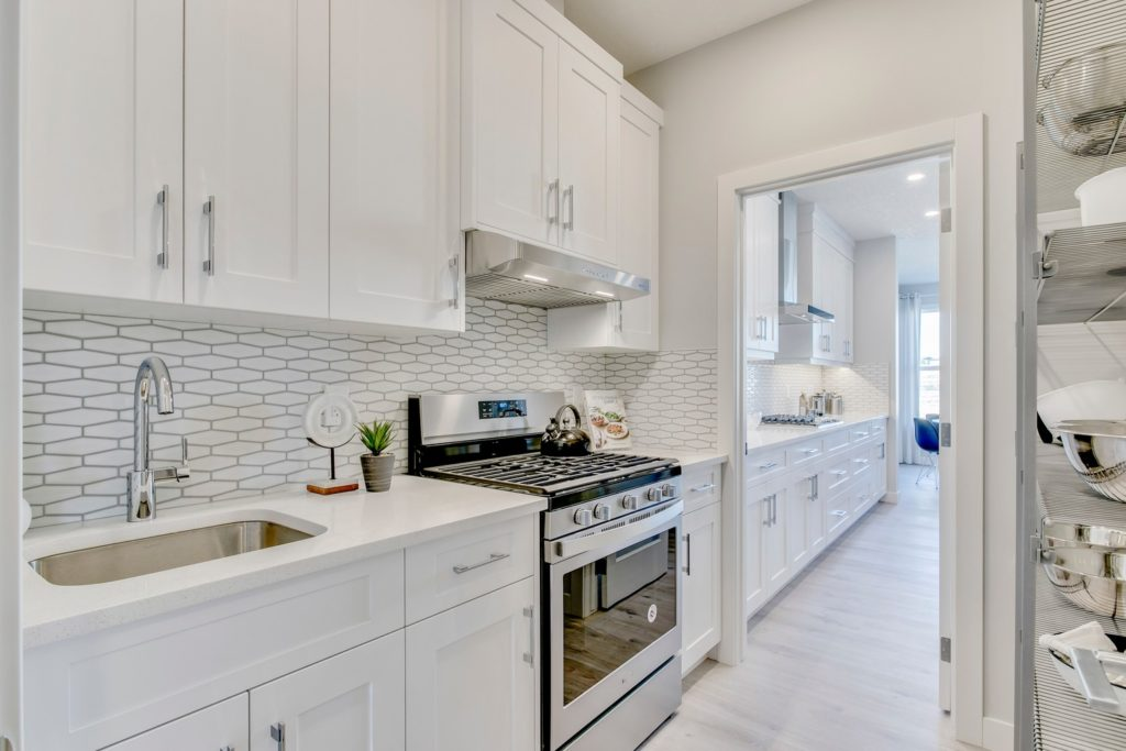 The Harrington Model Showhome By Trico Homes In the New Community of Carrington