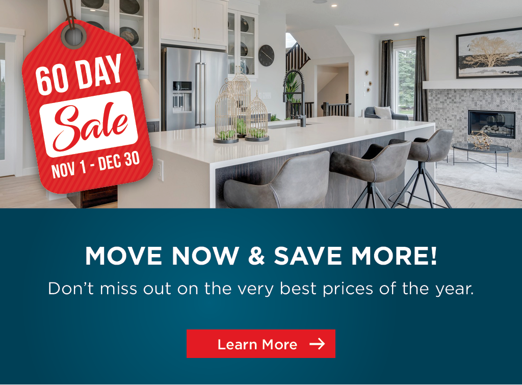 Trico Homes 60 Day Sale