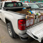 Trico Homes Food Bank Delivery