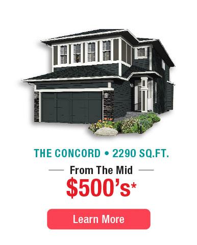 The Concord Model Home